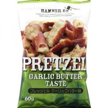Suite box pretzels garlic butter taste 60g ~ 10 pieces