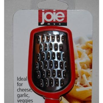 Joie Mini Grater Cheese Garlic Vegetables RED NEW