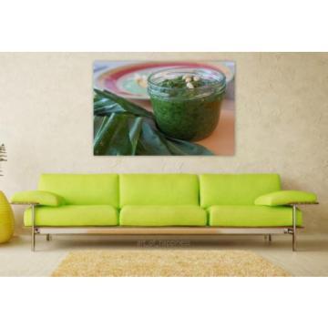 Stunning Poster Wall Art Decor Bear S Garlic Pesto Pine Nuts Oil 36x24 Inches
