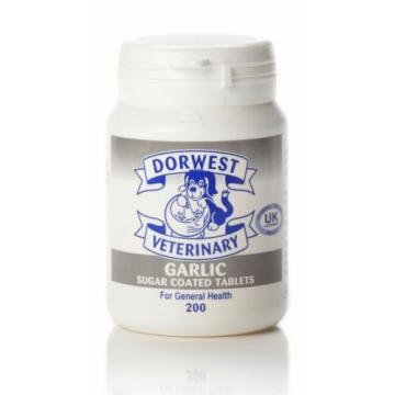 DORWEST HERBS GARLIC TABLETS GENERAL HEALTH for Dogs & Cats