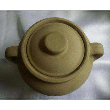 Monmouth Western Garlic Keeper Stoneware Pottery With Lid