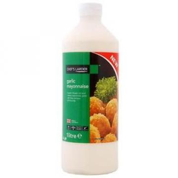 Chefs Larder Garlic Mayonnaise 1 Liter