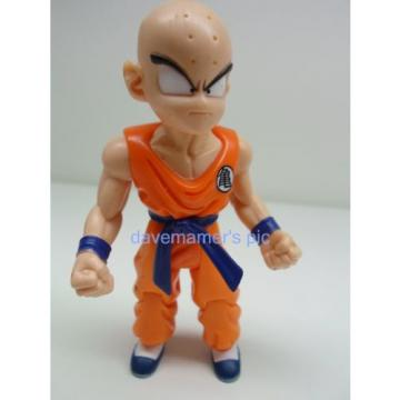 Dragon Ball z Irwin 2000 Garlic Jr. Saga KRILLIN #2 Action Figure not complete