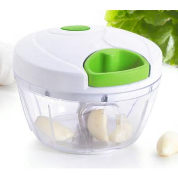 Mini Pull Vegetable Chopper Food Processor Fruit Garlic & Herb Slicer Blender