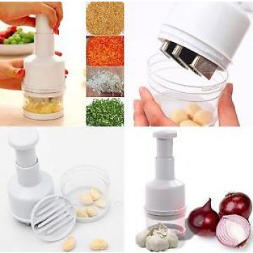 ONION VEGETABLE GARLIC QUICK CHOPPER CUTTER SLICER PEELER GRATER DICER KITCHEN
