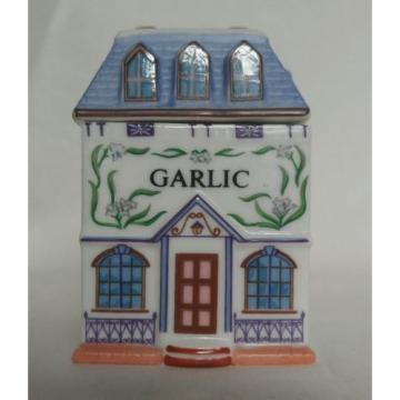 Vintage Replacement 1989 Lenox Spice Jar ~GARLIC~ Spice Village Collection
