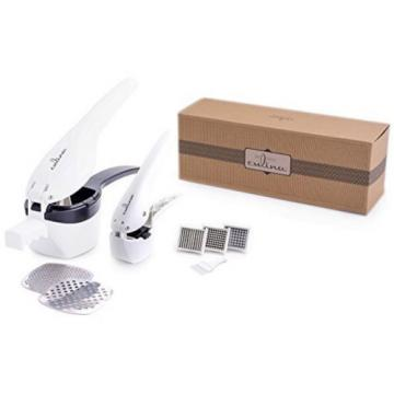 Culina Potato Ricer and Garlic Press Deluxe Set Home Kitchen Cool Gadgets New