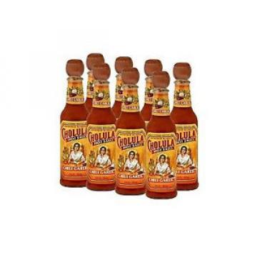 Cholula Chili Garlic Flavor 5 oz. Bottles (Set of 8)