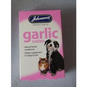 3x Johnsons Garlic Tablets 40's - Posted Today if Paid Before 1pm