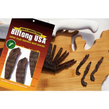 Biltong - Jerky Slab - Garlic - Free Shipping 8oz (Gluten Free)
