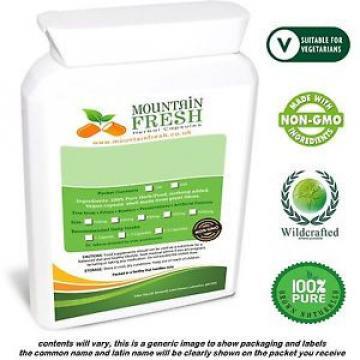 Organic Garlic Allium Sativum Pure Herb Capsules 200 X 500mg