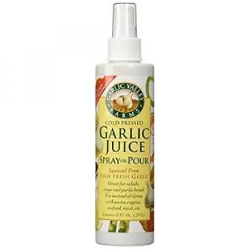 """True Natural Taste Garlic Juice Spray or Pour """"2 Pack"""" - (8 Oz Bottles)"""