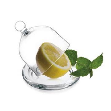 GLASS LEMON GARLIC ONION CONTAINER