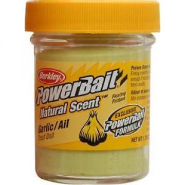 Berkley Natural Scent Trout Bait Garlic 1.75-Ounce - Exclusive Powerbait Formula