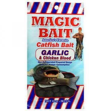 Magic Bait Catfish Bait GARLIC 10oz Bag