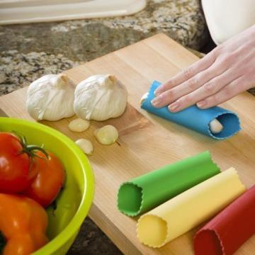 NEW Zak! Designs Colourways Garlic Peeler, Green, 31 X 21cm