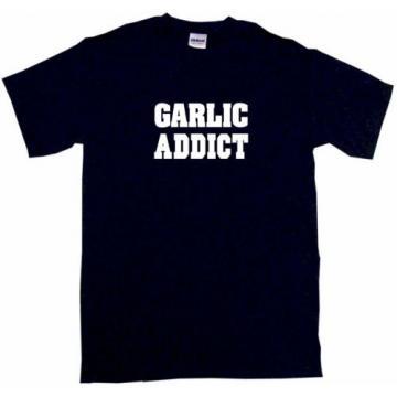 Garlic Addict Mens Tee Shirt Pick Size Color Small-6XL