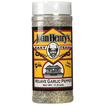 John Henry's Mojave Garlic Pepper Rub, 11.5oz