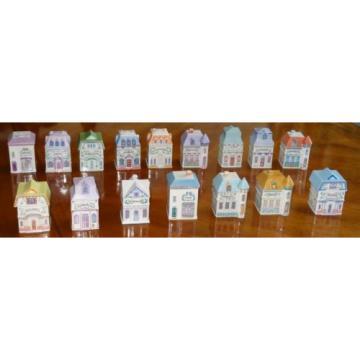 1989 Lenox Spice Village House Choice SAGE CELERY GARLIC CINNAMON ROSEMARY +++