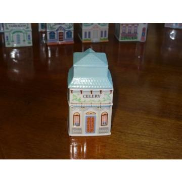 1989 Lenox Spice Village House Choice SAGE CELERY GARLIC CINNAMON ROSEMARY +++