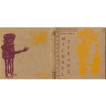 Redmoon Theater's FRANKENSTEIN cd Michael Zerang 1996 Chicago Garlic records 26t
