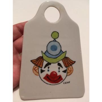 Clown Ceramic garlic Peeler