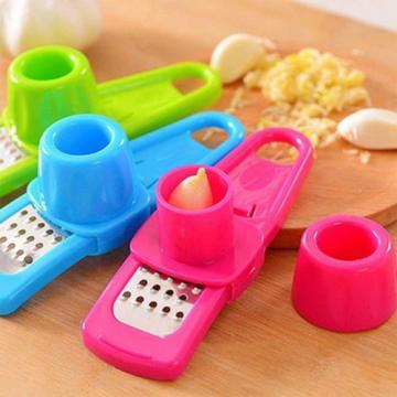 New Multi Function Garlic ginger grinding cutter tool planer slicer kitchen