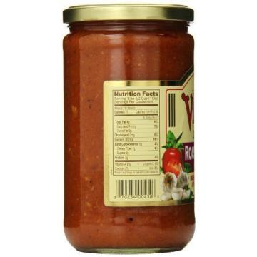 NEW Victoria 25 oz. All Natural Roasted Garlic Sauce