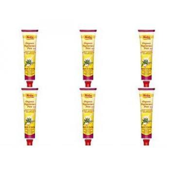 (6 PACK) - Tartex - Yeast Pate Herbs & Garlic | 200g | 6 PACK BUNDLE