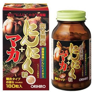 Orihiro completely odorless garlic grain japan