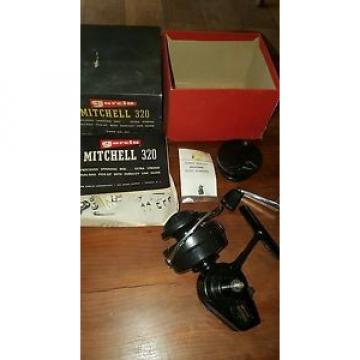 Garlic Mitchell 320. Rare Vintage Fishing Reel, UNUSED BOXED