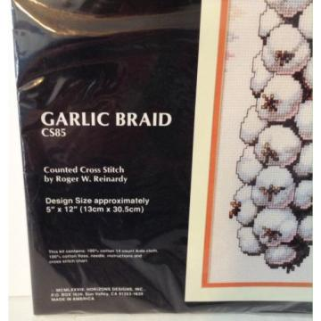 Garlic Braid Counted Cross Stitch Kit Roger Reinardy Monarch Horizons