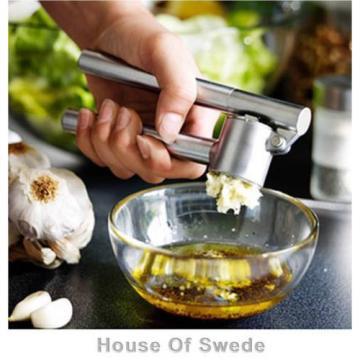 Ikea KONCIS Garlic Ginger Press Crusher Presser Squeezer Kitchen Stainless Steel