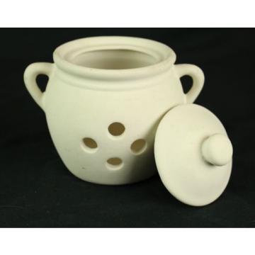 B W A Benson West Design - kitchen Garlic pottery pot