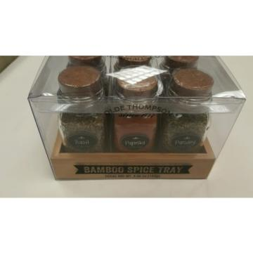 Olde Thompson bambo spice tray with spices
