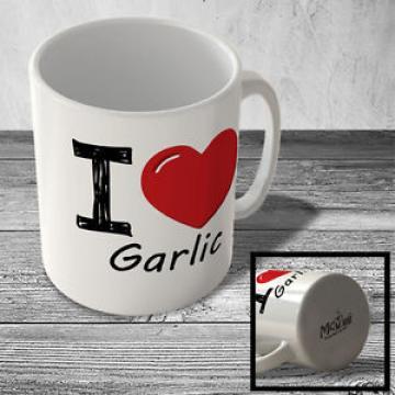 MUG_ILF_069 I Love (heart) Garlic - Mug
