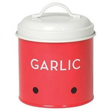 Now Designs Garlic Tin, Red