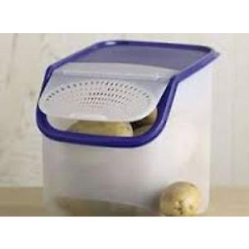Tupperware Access Mate Potato, Garlic, Onion Vented Container, Veg Out Panel, 3L