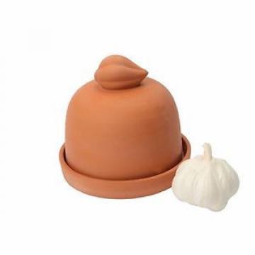 Dexam Garlic Baker Traditional Terracotta Garlic Pot Food Cooking Kitchen GIFT