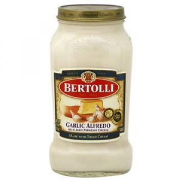 Bertolli  (Garlic) Alfredo with Aged Parmesan Cheese Pasta Sauce (3 Pack)