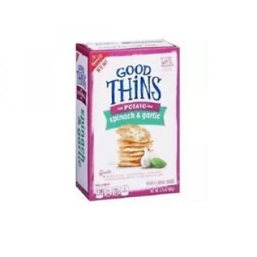 Nabisco Good Thins the Potato One Spinach & Garlic- Ships Worldwide