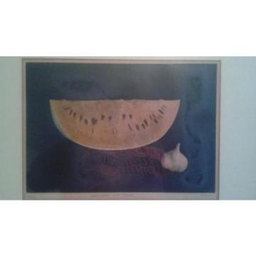 "Tomoe Yokoi ""watermelon and garlic"" (#74 of 75) Brewster Gallery Authentication"