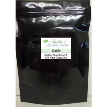 Garlic Certified Organic 400  Halal  Capsules