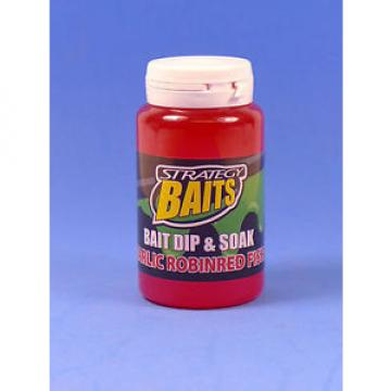 SPRO Strategy Baits - Bait Dip  & Soak, Garlic Robinred Fish, 150ml