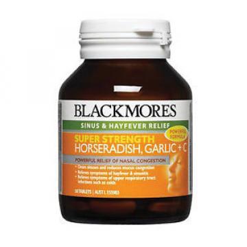 BLACKMORES SUPER STRENGTH HORSERADISH, GARLIC + C 50 TABLETS