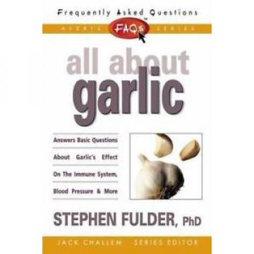 Faqs All About Garlic