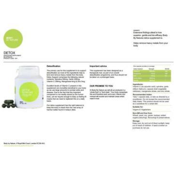 Detox supplements,Spirulina 200mg,Garlic 200mg,Vitamin C 200mg,Manganese & Zinc