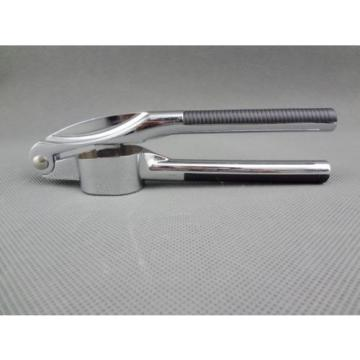 Stainless Garlic Press Crusher/Ginger Hand Squeeze Ginger Presser (C473) New