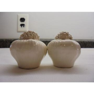 Vintage Salt and Pepper Shakers Garlic Bulbs  Realistic Looking..