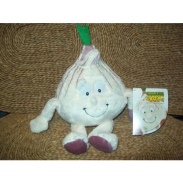 """""""GARLIC"""" GRACE GOODNESS GANG CO-OP COLLECTABLE TEDDIES - RARE WITH TAGS"""